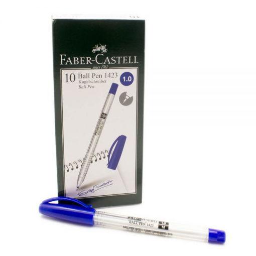 صورة قلم فيبر كاستل جاف 10 حبات