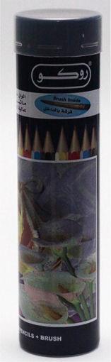 صورة الوان خشبية مائية روكو 24 لون