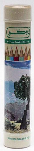 صورة الوان خشبية مائية روكو 12 لون