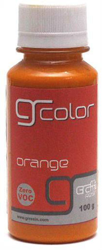 Picture of الوان جرافتي ريزن - برتقالي  Gr-color