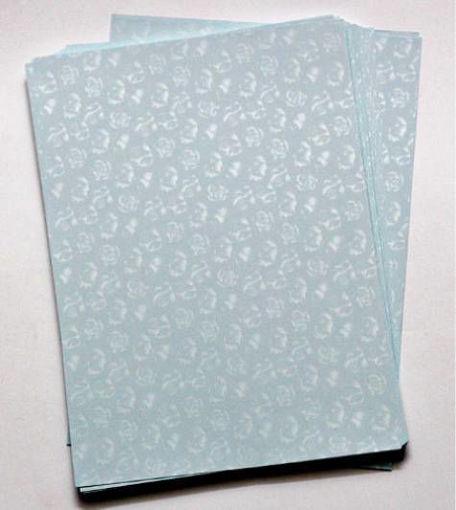 صورة ورق تصوير معطر ازرق فاتح Light Blue