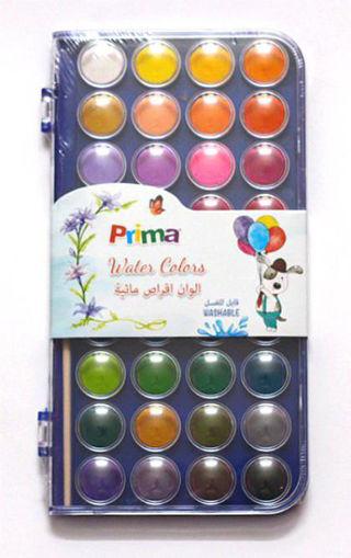 صورة الوان مائية اقراص بريما - 36 لون