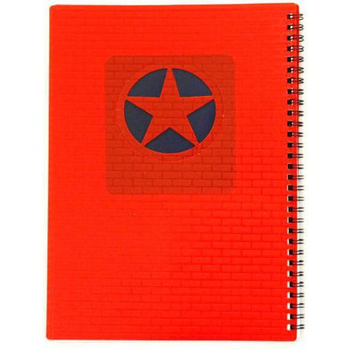 صورة دفتر سلك عربي 60 ورقة B5