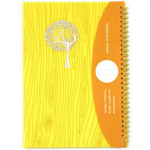صورة دفتر سلك عربي 80 ورقة A5