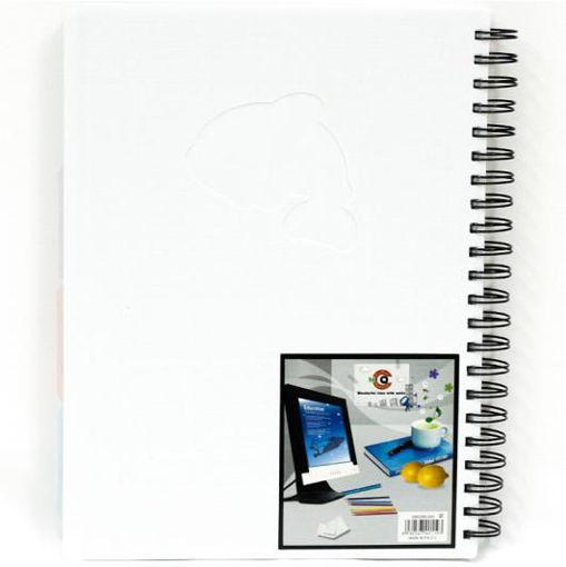 صورة دفتر سلك عربي 200 ورقة A4 – مقسم 4 مواضيع