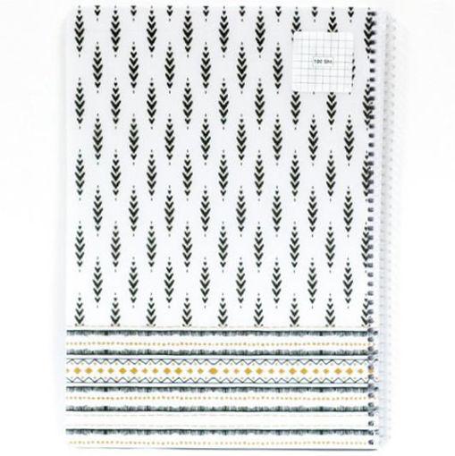 صورة دفتر سلك مربعات  100  ورقة A4