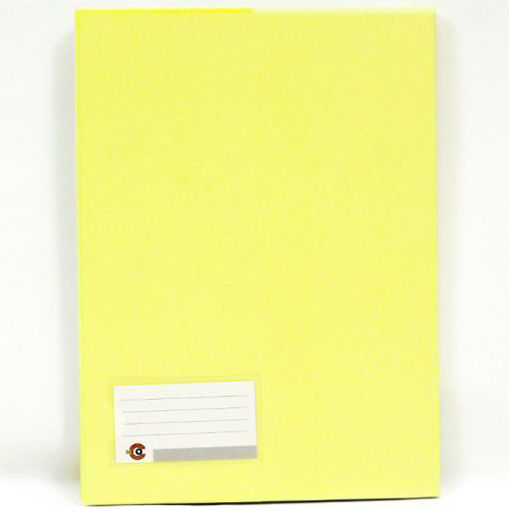 صورة دفترغلاف جلد  100 ورقة مربعات B5