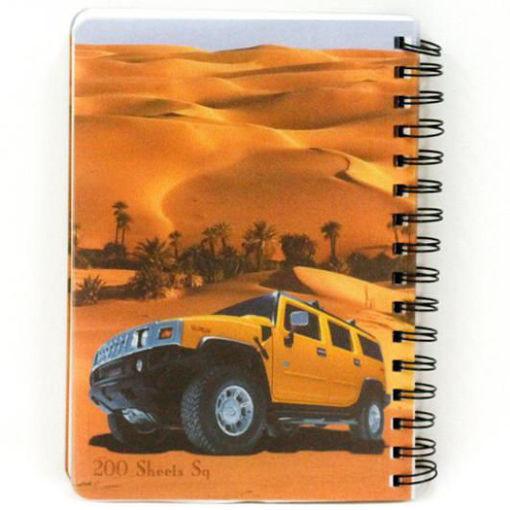 Picture of دفتر سلك مربعات 200 ورقة A5