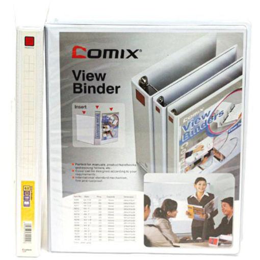 """صورة ملف حلقتين ابيض """"COMIX - A4 - 0.5"""