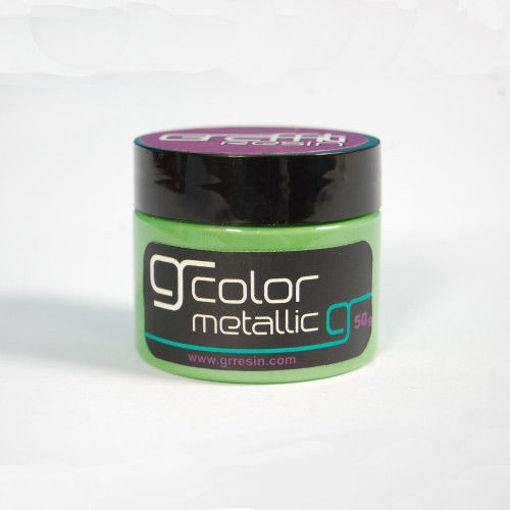 صورة جرافتي ريزن الوان ميتالك - اخضر عشبي GRM013