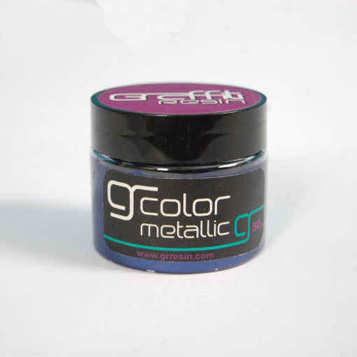 صورة جرافتي ريزن الوان ميتالك - ازرق نيلي  GRM026