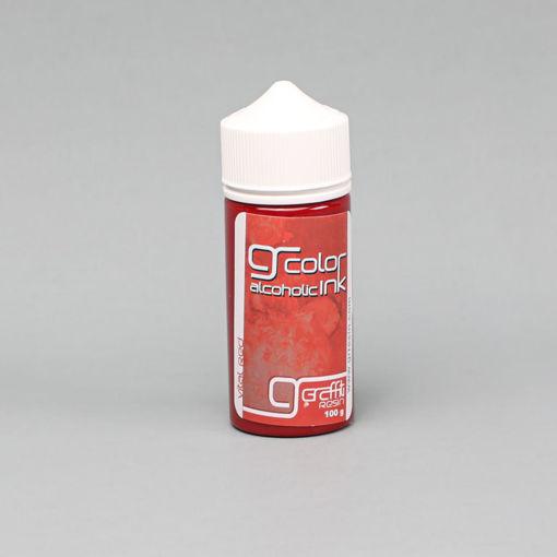 صورة الوان كحولية - احمر حيوي - 100 ملم - GRA012